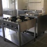 2006 - Kuchyňa pre MŠ - Skalica - kompletné zariadenie