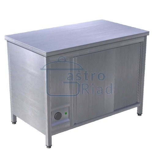 Zobraziť tovar: Stôl ohrievací na taniere - režón 1500mm, EOS