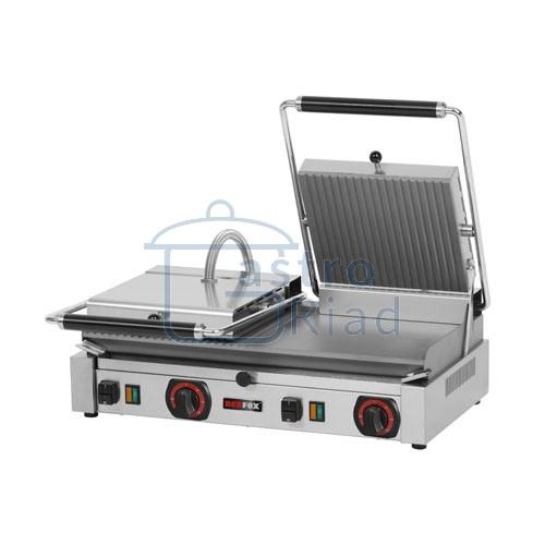 Zobraziť tovar: Gril kontaktný el. hladký / ryhovaný, 400V, PD-2020M