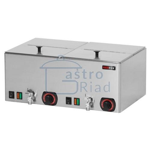 Zobraziť tovar: Ohrievač párkov dvojitý s ventilmi, WEV-11