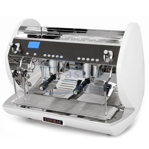 Zobraziť tovar: Kávovar 2 páky, Turbo steamer, 200káv/h, Carat 2P/TS/WH