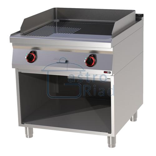 Zobraziť tovar: Platňa smažiaca el. hladká / ryhovaná chróm., 800/900, FTHRC-90/80E