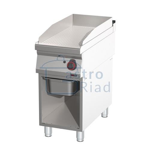Zobraziť tovar: Platňa smažiaca plyn. ryhovaná, 400/900, FTR-90/40G