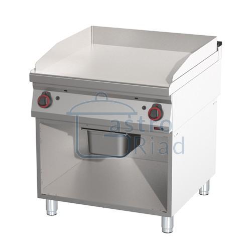 Zobraziť tovar: Platňa smažiaca plyn. hladká chróm., 800/900, FTHC-90/80G
