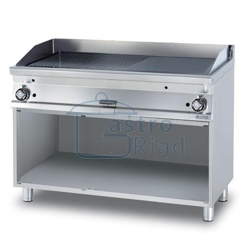 Zobraziť tovar: Platňa smažiaca plyn. hladká / ryhovaná, 1200/700, FTLR-712G