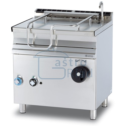 Zobraziť tovar: Panva smažiaca plyn. nerezová 50 l, 800/700, BR50-78G/N