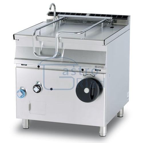 Zobraziť tovar: Panva smažiaca plyn. zliatinová 80 l, 800/900, BR80-98G