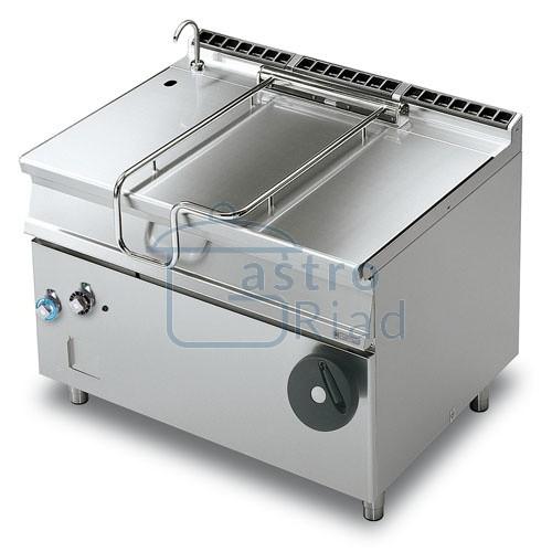 Zobraziť tovar: Panva smažiaca plyn. nerezová 120 l, 1200/900, BR120-912G/N