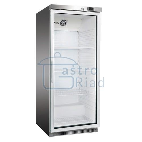 Chladnička nerezová presklená ventilovaná 570 l