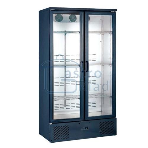 Zobraziť tovar: Chladnička dvojdverová čierna presklená ventilovaná 500 l, SGD-500