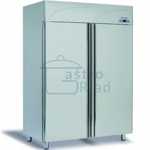 Zobraziť tovar: Chladnička nerez. dvojdverová ventil. 1400 l, LS-140