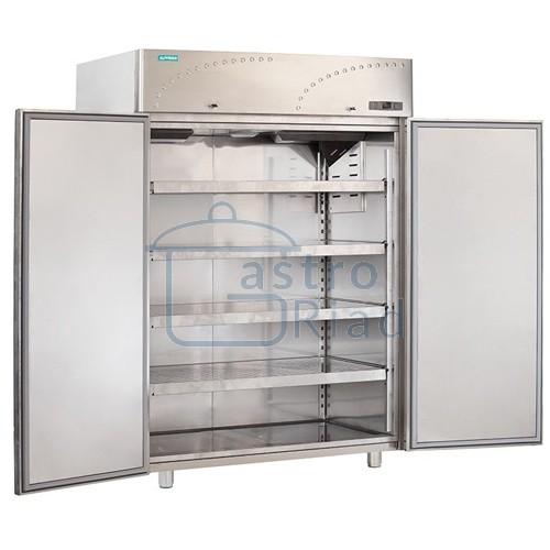 Zobraziť tovar: Chladnička nerezová dvojdverová ventilovaná 1500 l, LS-140X1
