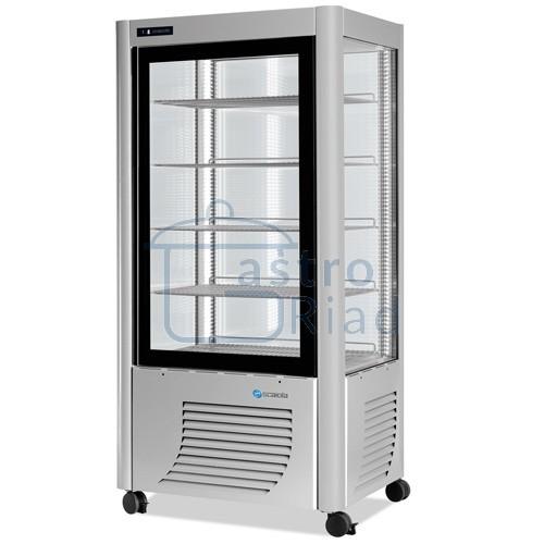 Vitrína chladiaca, roštové police, 540 l
