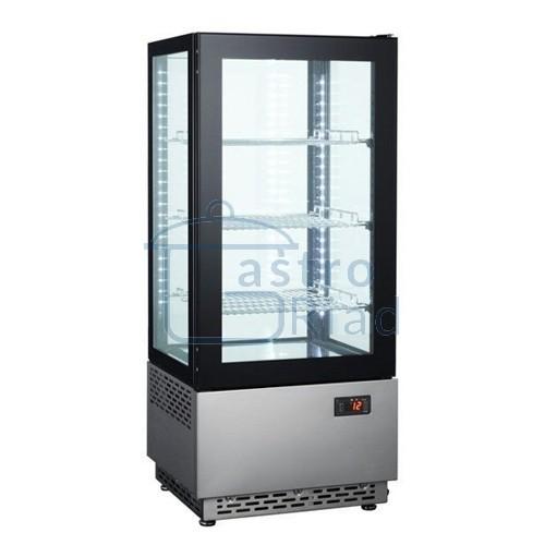 Zobraziť tovar: Vitrína chladiaca pultová 78 l, čierna/nerez, RT-78