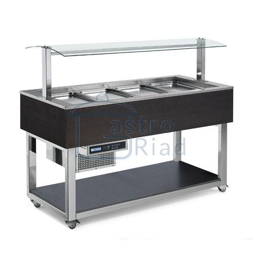 Zobraziť tovar: Vozík chladiaci 4xGN1/1, ES-GREEN PLUS4