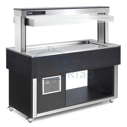 Zobraziť tovar: Vozík chladiaci 3xGN1/1, TR-LIME PLUS3