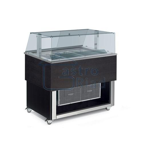 Zobraziť tovar: Vozík chladiaci 3xGN1/1, TR-BLUE VISION 3