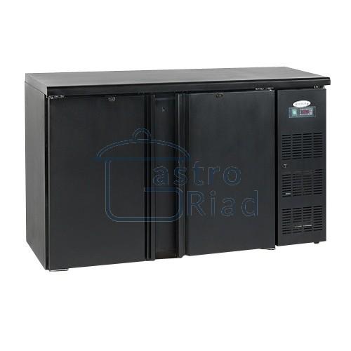 Zobraziť tovar: Stôl chladiaci barový, 2 x dvere, antracit, CBC-210