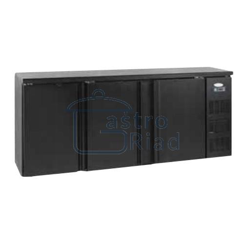 Zobraziť tovar: Stôl chladiaci barový, 3 x dvere, antracit, CBC-310