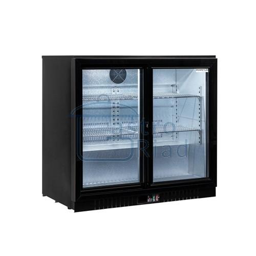 Zobraziť tovar: Stôl chladiaci barový, 2 x presklené dvere, BAR-286SG