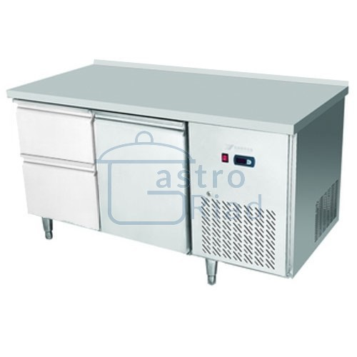Zobraziť tovar: Stôl chladiaci, 1 x dvere, 2 x zásuvka, CNT-2D-1D2Z/EPF-2D-1D2Z