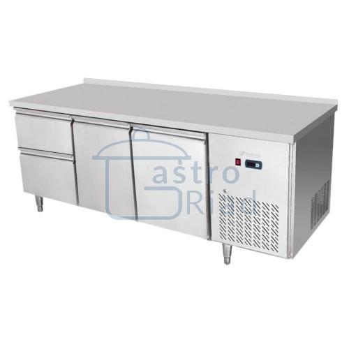 Zobraziť tovar: Stôl chladiaci, 2 x dvere, 2 x zásuvka, CNT-3D-2D2Z/EPF-3D-2D2Z