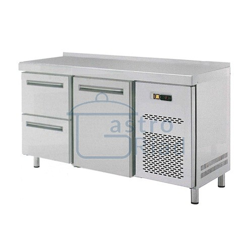 Zobraziť tovar: Stôl chladiaci, 1 x dvere, 2 x zásuvka, RT-2D-1D2Z