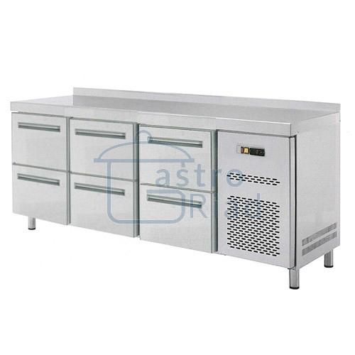 Zobraziť tovar: Stôl chladiaci 6x zásuvka, RT-3D-6Z