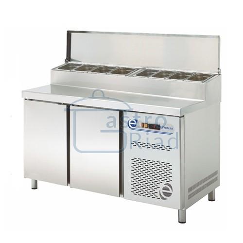 Zobraziť tovar: Stôl chladiaci snack, 2 x dvere, TPZ-135D