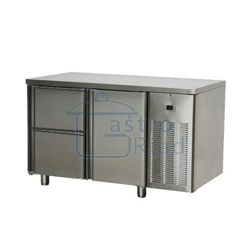 Zobraziť tovar: Stôl chladiaci, 1 x dvere, 2 x zásuvka, SCH-2D-1D2Z