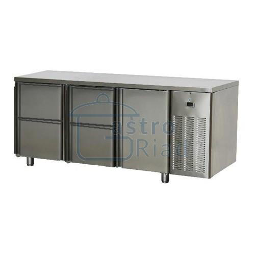 Zobraziť tovar: Stôl chladiaci, 1 x dvere, 4 x zásuvka, SCH-3D-1D4Z