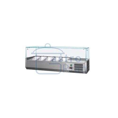 Zobraziť tovar: Vitrína chladiaca 5xGN1/4, VCH-4120/VCH-120