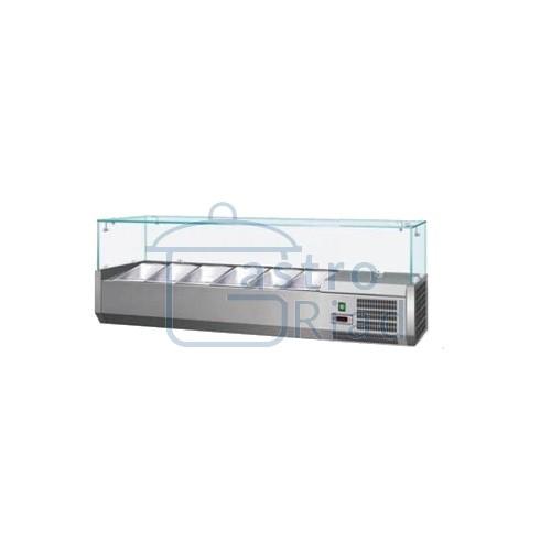 Zobraziť tovar: Vitrína chladiaca 6xGN1/4, VCH-4140/VCH-140