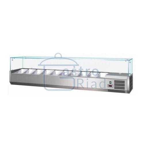 Zobraziť tovar: Vitrína chladiaca 10xGN1/4, VCH-4200/VCH-200