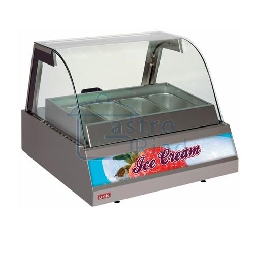Zobraziť tovar: Vitrína zmrzlinová 4 x GN, KENTUCKY ICE CREAM