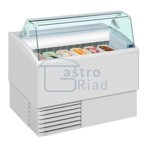 Zobraziť tovar: Vitrína zmrzlinová 6 x GN, ISETTA-6R-STD