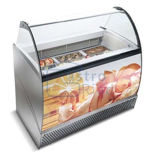 Zobraziť tovar: Vitrína zmrzlinová 13 x GN, ISABELLA LX-13