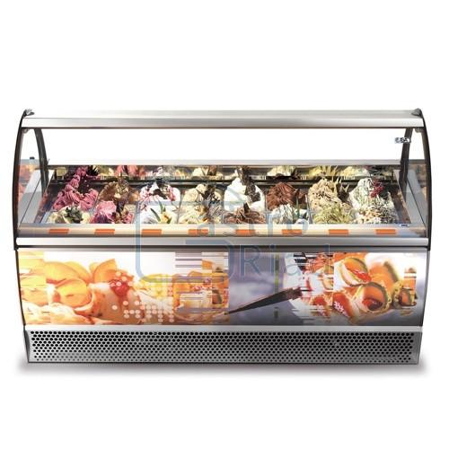 Zobraziť tovar: Vitrína zmrzlinová 12 x GN, MILENNIUM SP-12