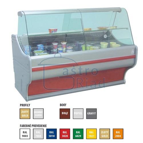 Zobraziť tovar: Vitrína chladiaca 555 l, WCh-1/B/2000
