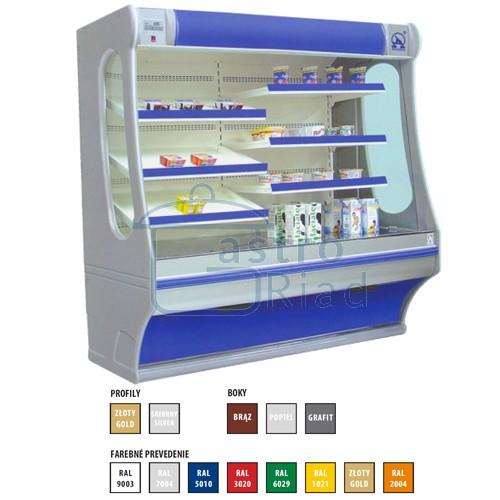 Zobraziť tovar: Regál chladiaci 2000, Rch-1/B