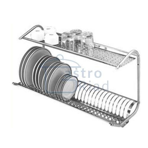 Zobraziť tovar: Odkvapkávač riadu nástenný 80cm, O-80