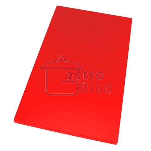 Zobraziť tovar: Doska plastová červená 600x400