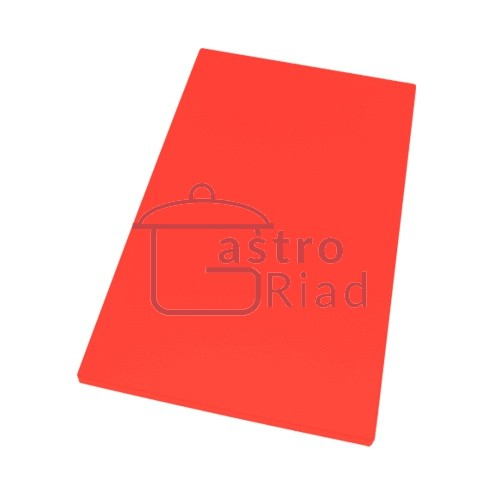Zobraziť tovar: Doska plastová červená 500x300