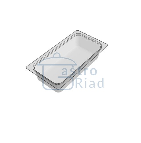 Zobraziť tovar: Gastronádoba polykarbonátová, GNP1/3 - 65
