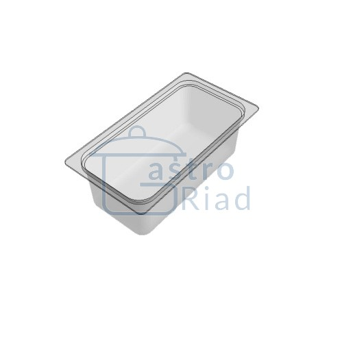 Zobraziť tovar: Gastronádoba polykarbonátová, GNP1/3 - 100