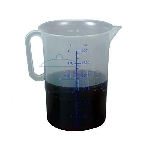 Zobraziť tovar: Nádoba odmerná plastová 2 l