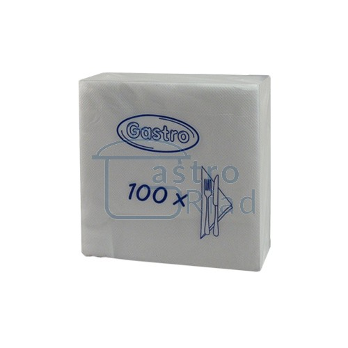 Zobraziť tovar: Servítky biele - 100ks
